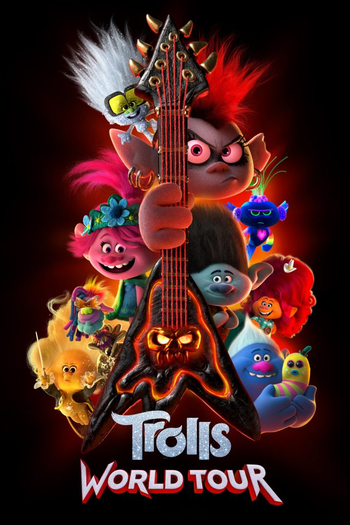 """Poster for the movie """"Trolls World Tour"""""""