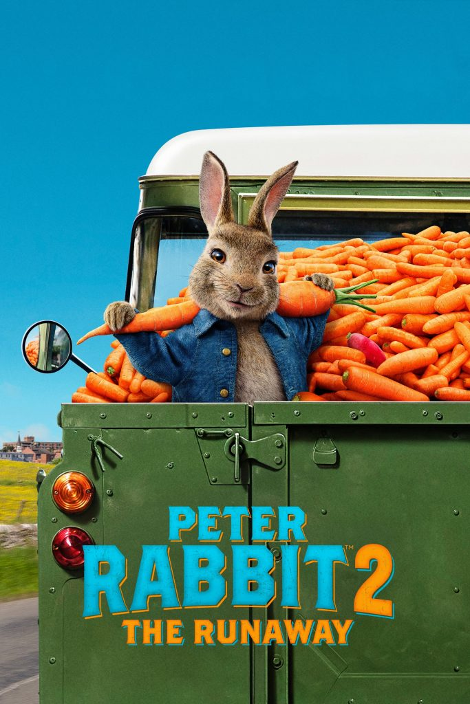 "Poster for the movie ""Peter Rabbit 2: The Runaway"""