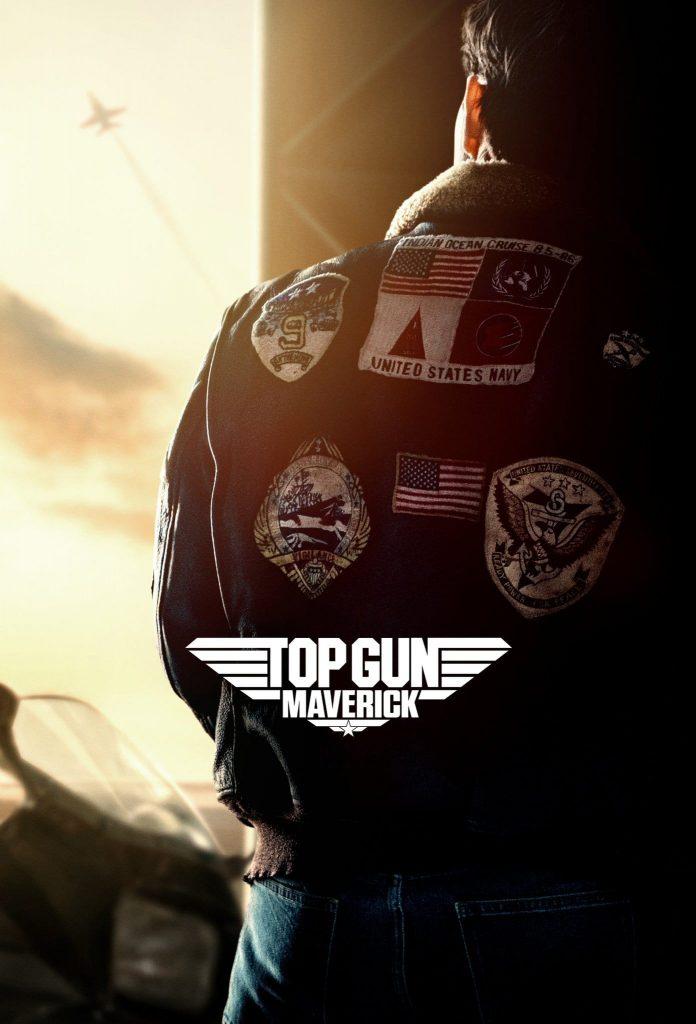 "Poster for the movie ""Top Gun: Maverick"""