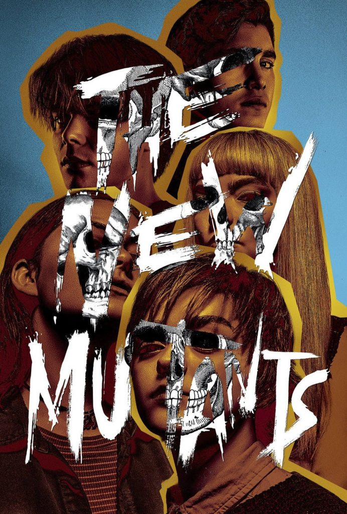 """Poster for the movie """"The New Mutants"""""""